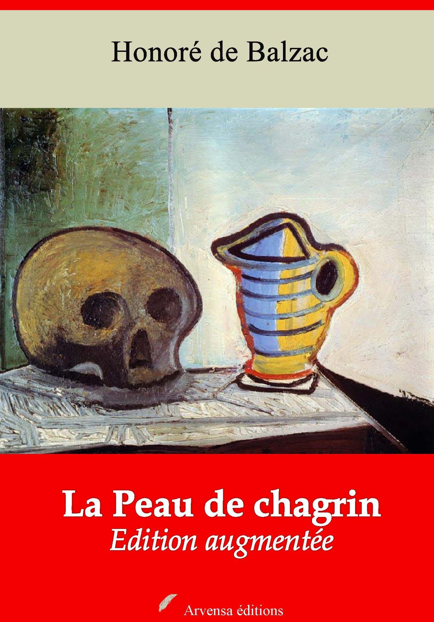 La Peau de chagrin d'Honoré de Balzac Arvensa Editions