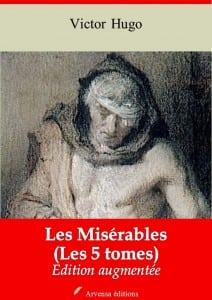 Les 5 volumes des Misérables de Victor Hugo Arvensa Editions