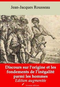 Discours sur l'origine et les fondements de l'inégalité parmi les hommes de Jean-Jacques Rousseau Arvensa Editions