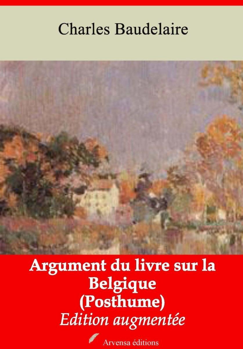Argument du livre sur la Belgique (Charles Baudelaire) | Ebook epub, pdf, Kindle