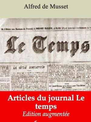 Articles du journal Le temps (Alfred de Musset) | Ebook epub, pdf, Kindle