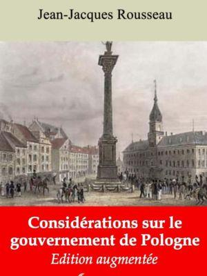 Considérations sur le gouvernement de Pologne (Jean-Jacques Rousseau) | Ebook epub, pdf, Kindle