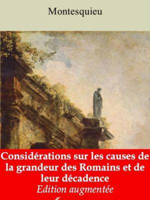 Considérations sur les causes de la grandeur des Romains et de leur décadence (Montesquieu) | Ebook epub, pdf, Kindle