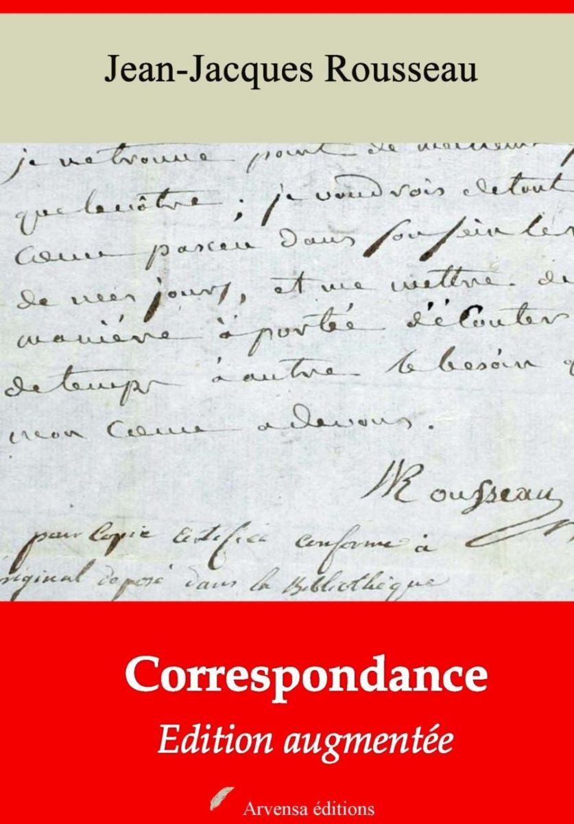 Correspondance (Jean-Jacques Rousseau) | Ebook epub, pdf, Kindle