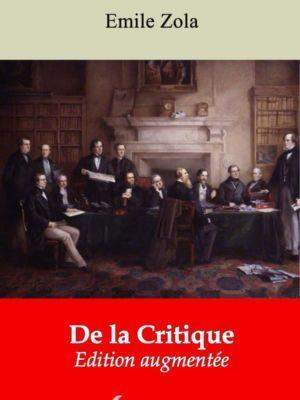 De la Critique (Emile Zola) | Ebook epub, pdf, Kindle