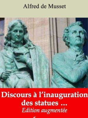 Discours à l'inauguration des statues (Alfred de Musset) | Ebook epub, pdf, Kindle