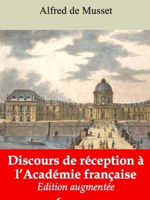 Discours de réception à l'Académie française (Alfred de Musset) | Ebook epub, pdf, Kindle