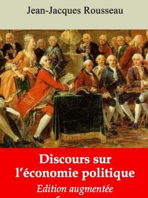 Discours sur l'économie politique (Jean-Jacques Rousseau) | Ebook epub, pdf, Kindle