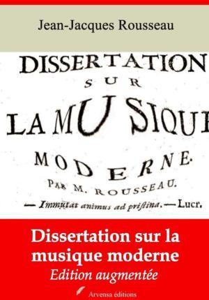 Dissertation sur la musique moderne (Jean-Jacques Rousseau) | Ebook epub, pdf, Kindle