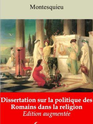 Dissertation sur la politique des Romains dans la religion (Montesquieu) | Ebook epub, pdf, Kindle