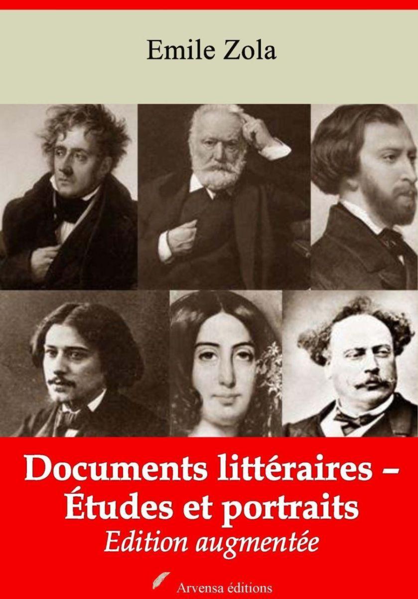 Documents littéraires – Études et portraits (Emile Zola) | Ebook epub, pdf, Kindle