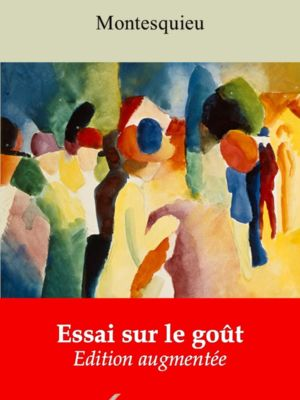 Essai sur le goût (Montesquieu) | Ebook epub, pdf, Kindle