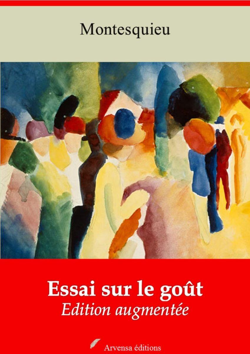 Essai sur le goût (Montesquieu) | Ebook epub, pdf, Kindle