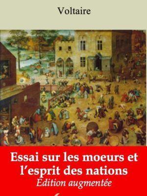 Essai sur les moeurs et l'esprit des nations (Voltaire) | Ebook epub, pdf, Kindle