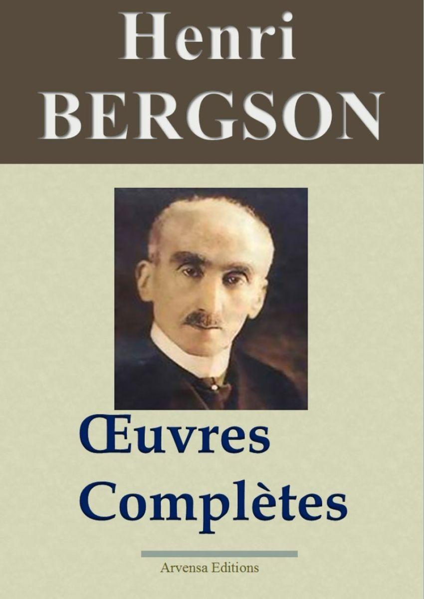 Henri Bergson oeuvres complètes ebook epub pdf kindle