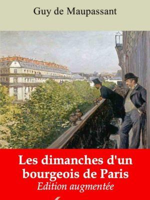 Les dimanches d'un bourgeois de Paris (Guy de Maupassant) | Ebook epub, pdf, Kindle