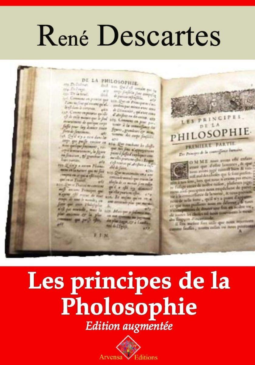 Les principes de la philosophie (René Descartes)   Ebook epub, pdf, Kindle