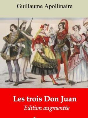Les trois Don Juan (Guillaume Apollinaire)   Ebook epub, pdf, Kindle