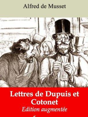 Lettres de Dupuis et Cotonet (Alfred de Musset) | Ebook epub, pdf, Kindle