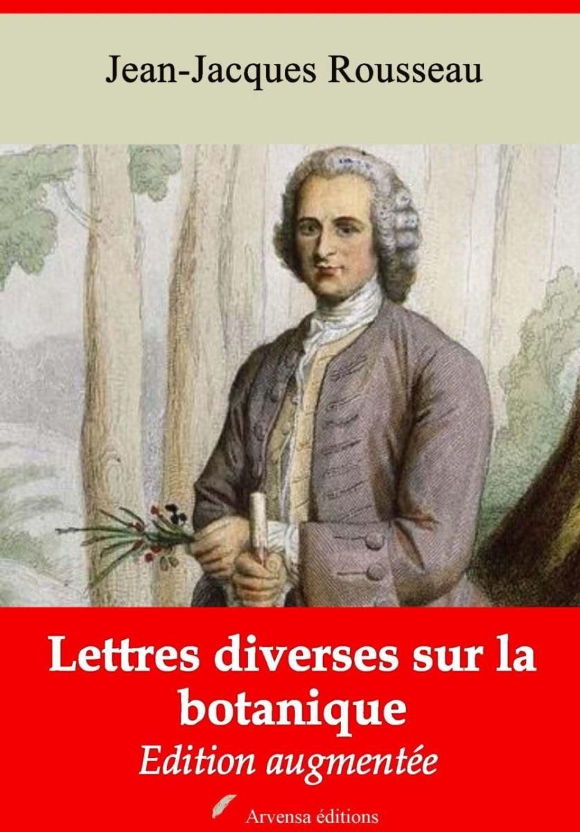 Lettres diverses sur la botanique (Jean-Jacques Rousseau)   Ebook epub, pdf, Kindle