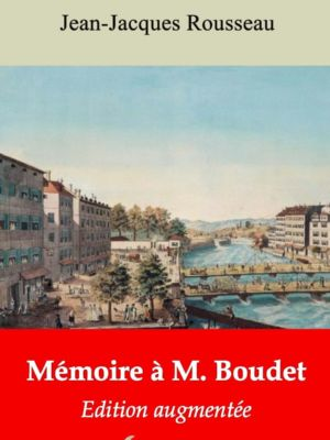 Mémoire à M. Boudet (Jean-Jacques Rousseau) | Ebook epub, pdf, Kindle