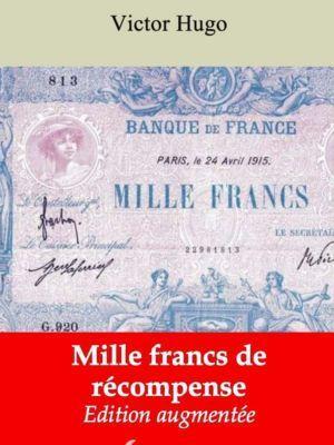 Mille francs de récompense (Victor Hugo) | Ebook epub, pdf, Kindle