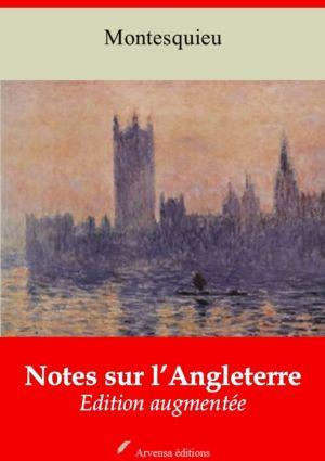 Notes sur l'Angleterre (Montesquieu) | Ebook epub, pdf, Kindle