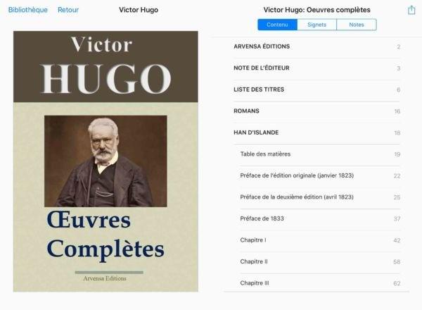 oeuvres complètes Arvensa littérature ergonomie