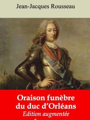 Oraison funèbre du duc d'Orléans (Jean-Jacques Rousseau) | Ebook epub, pdf, Kindle