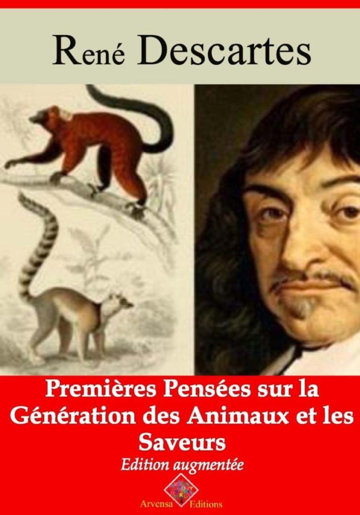 Premières pensées sur la génération des animaux et les saveurs (René Descartes) | Ebook epub, pdf, Kindle