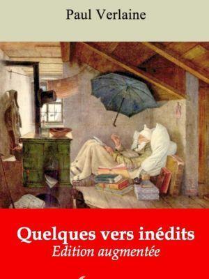 Quelques vers inédits (Paul Verlaine)   Ebook epub, pdf, Kindle