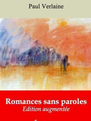 Romances sans paroles (Paul Verlaine)   Ebook epub, pdf, Kindle