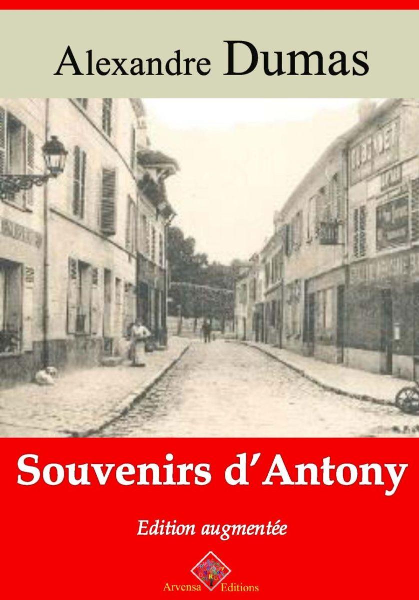 Souvenirs d'Antony (Alexandre Dumas)   Ebook epub, pdf, Kindle