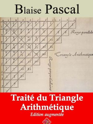 Traité du triangle arithmétique (Blaise Pascal)   Ebook epub, pdf, Kindle