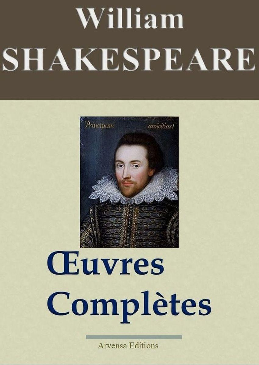 William Shakespeare oeuvres complètes ebook epub pdf kindle